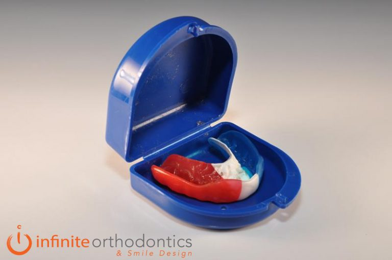using mouthguards
